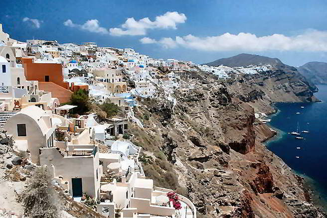 Santorini tours and shore excursions